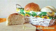 Il paradiso delle dolcezze: Panini da hamburger o buffet al latte e olio