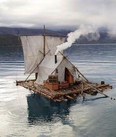 Sailing tent.