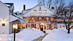 Windham Hill Inn: A quiet getaway in the Green Mountains of southeastern Vermont, Windham Hill is graciously secluded.