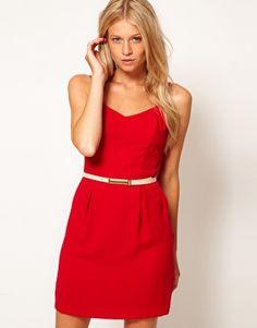 Oasis V-Back Dress