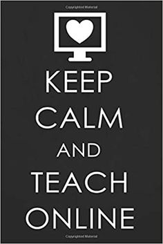 Keep Calm and Teach Online: Inspirational Quote for Teachers and Coworkers, Teaching Online Appreciation Gift Journal with Monitor Teacher End Of Year, Your Teacher, Teacher Stuff, Teachers Day Gifts, Thank You Teacher Gifts, Teaching Quotes, School Fundraisers, Teachers' Day, Teacher Appreciation Week