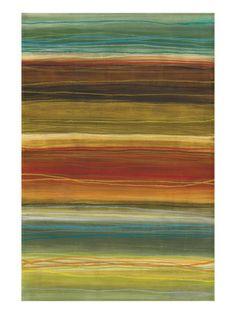 Organic Layers II - Stripes, Layers Giclee Print by Jeni Lee at Art.com
