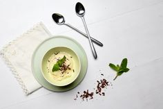 Our Recipes | Fresh Mint Ice Cream With Shaved Dark Chocolate Hamptons Lane