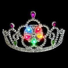 LED Light Up Tiara  Multicolor >>> Want additional info? Click on the image. #instafashion