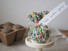 There are many nifty purposes for these DIY seed bombs: party favours, show-how-much-I-dig-you presents, or eco-friendly ammo for a slingshot, for instance