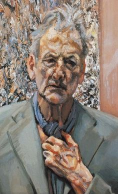 Self Portrait, oil, Lucian Freud 2002 (248)