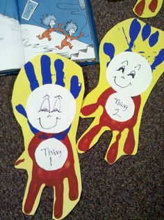 Thank you Rebecca Shiplett for the fun Dr. Suess idea!!! Done today in my classroom!