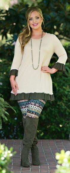 Sense And Sensibility Legging - Perfectly Priscilla Boutique