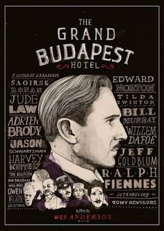The Grand Hotel Budapest - A film by Wes Anderson  Fonte: il Web