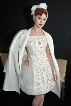Fan Bing Bing Front Row Louis Vuitton RTW Fall 2012