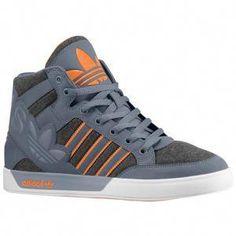 best service a05d8 fe2ed adidas Originals Hard Court Hi Big Logo - Men s - Basketball - Shoes - Dark  Grey