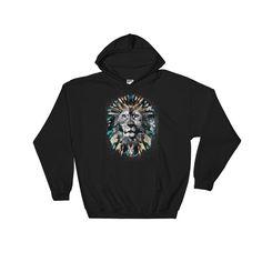 Mystic Lion | Men's Hooded Sweatshirt