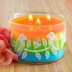 Rio Layered 3-Wick Jar Candle