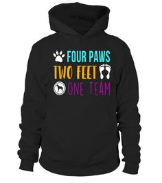 """# Four Paws Two Feet One Team Funny T-Shirt .  Special Offer, not available in shops      Comes in a variety of styles and colours      Buy yours now before it is too late!      Secured payment via Visa / Mastercard / Amex / PayPal      How to place an order            Choose the model from the drop-down menu      Click on """"Buy it now""""      Choose the size and the quantity      Add your delivery address and bank details      And that's it!      Tags: Dog Lovers T-shirt, Puppy Lover, Dog Vet…"""