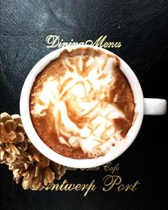 Son Goku - Dragon Ball latte art by Kazuki Yamamoto