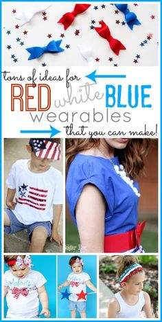 Patriotic Clothes you can make