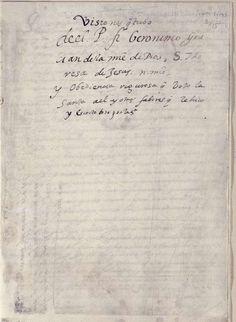 El Archivo Provincial de Toledo recibe el relato recién restaurado de una de las visiones de Santa Teresa de Jesús
