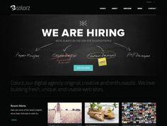 23 Fantastic Examples of Dark Colors in Web Design | Inspiration