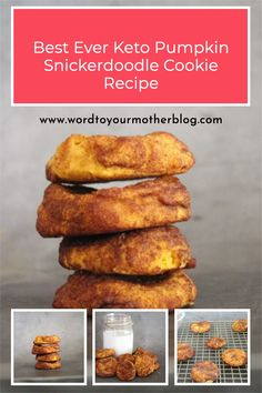 This keto pumpkin spice snickerdoodle cookie recipe is seriously everything you want, need, and love in a cookie that – big bonus – you can make in less than 30 minutes. Grab the recipe here! #wordtoyourmother #keto #easy #pumpkin #recipe #fall Pumpkin Snickerdoodle Cookie Recipe, Pumpkin Spice Cookies, Best Crockpot Recipes, Fall Recipes, Keto Recipes, Easy Healthy Breakfast, Healthy Snacks, Breakfast Recipes, Healthy Recipes For Weight Loss