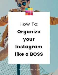 Organize your Instagram life like a BOSS. Don't ever feel stressed about posting on Instagram again. Here are the tips that helped us. #instagram #instagramtips #instagramforbusiness #instagrammarketing #instagramstrategy #socialmedia #onlinemarketing #marketing #marketingstrategy #previewapp