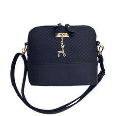 HOT SALE!2017 Women Messenger Bags Fashion Mini Bag With Deer Toy Shell Shape Bag Women Shoulder Bags free shipping