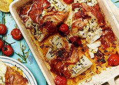 Baked cod with a prosciutto twist - https://www.homemadebyyou.co.uk/recipes/main-courses/baked-cod-with-a-prosciutto-twist/
