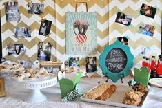 Graduation party ideas...#graduationparty #classof2014  http://buttercream-bakehouse.com/2014/05/graduation-party-ideas.html