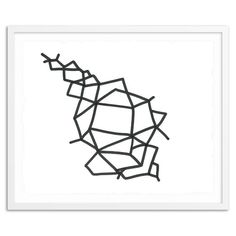 Sayan Ray Print - Interwoven Labyrinth | west elm