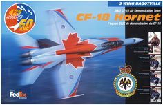 2002 CF-18 Air Demonstration Team Poster