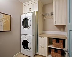 Small Laundry Room Design Ideas Popular  Small Laundry Room Shelving With Small Space Solutions