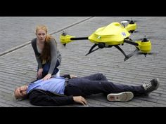 The Ambulance Drone, An Emergency UAV Concept With a Built-In Defibrillator [ AutonomousAvionics.com ] #drone #avionics #technology