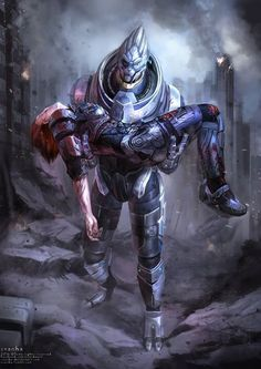 Shepard and Garrus. Till the very end