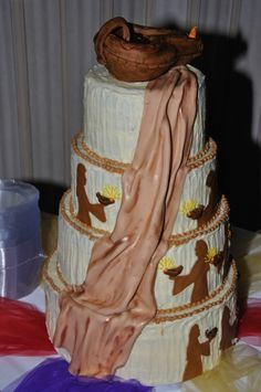 Parrable of the Ten Virgins By Susan's Cake Studio