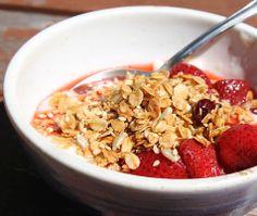 Concertina Press - Stationery and Invitations: Yummy, Inexpensive Nut-Free Granola Recipe