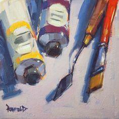 cathleen rehfeld • Daily Painting: My Tools
