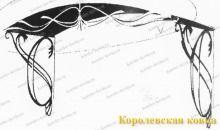 Кз-14 Кованый козырек с аккуратным дизайном http://korolev-kovka.ru/kz14-kovanyj-kozyrek-s-akkuratnym-dizajnom/  Кз-14 Кованый козырек с аккуратным дизайном является надежным решением для защиты входа в здание от погодных факторов. Данный козырек выполнен с...