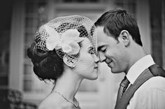 Love the birdcage veil. Must learn how to make this myself. I can't believe these costs upwards of $100!!