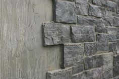 Great way to cover cinder block walls and dress them up- use under house as …