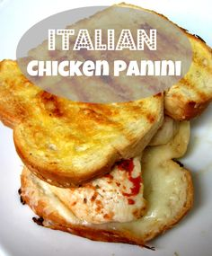 italian chicken panini more italian chicken paninis chicken panini ...