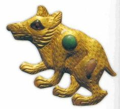 The Wusun Gold was found in a burial in the Kargaly Valley near Almaty city in Southeast Kazakhstan.