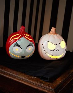 These light up The Nightmare Before Christmas pumpkins are simply meant to be in your home!
