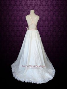 Destination Wedding Dress | Ieie's Bridal Wedding Dress Boutique