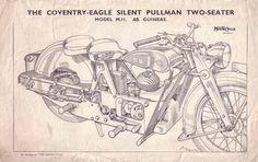 Red Devil Motors: Coventry Eagle Pullman brochure