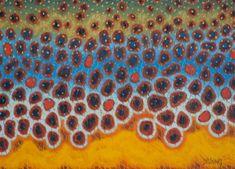 Brown Flank - Blue by Derek DeYoung