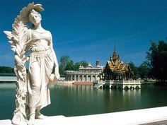 Bang Pa in Palace, Ayutthaya, Thailand
