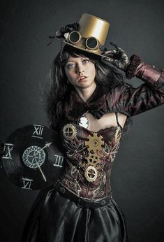 "steampunkopath: "" Steampunk Girls "" https://madburner.com"