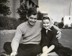 NEVER LET ME GO (1952) - Clark Gable & Gene Tierney on location - MGM.
