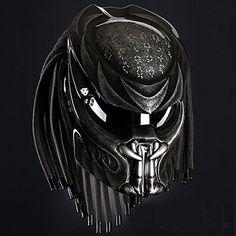 Alien Predator Helmet Street Fighter Carbon Fiber Material