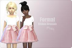 Abito formale bimba•The Sims 4
