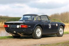Rally preparation Triumph TR 6